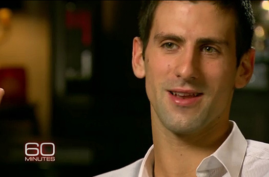 Cbs 60 Minutes Interview With Novak Video Novak Djokovic