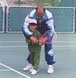An Old Photo of Novak Djokovic