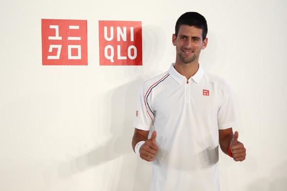 Novak Appointed Uniqlo Ambassador Novak Djokovic