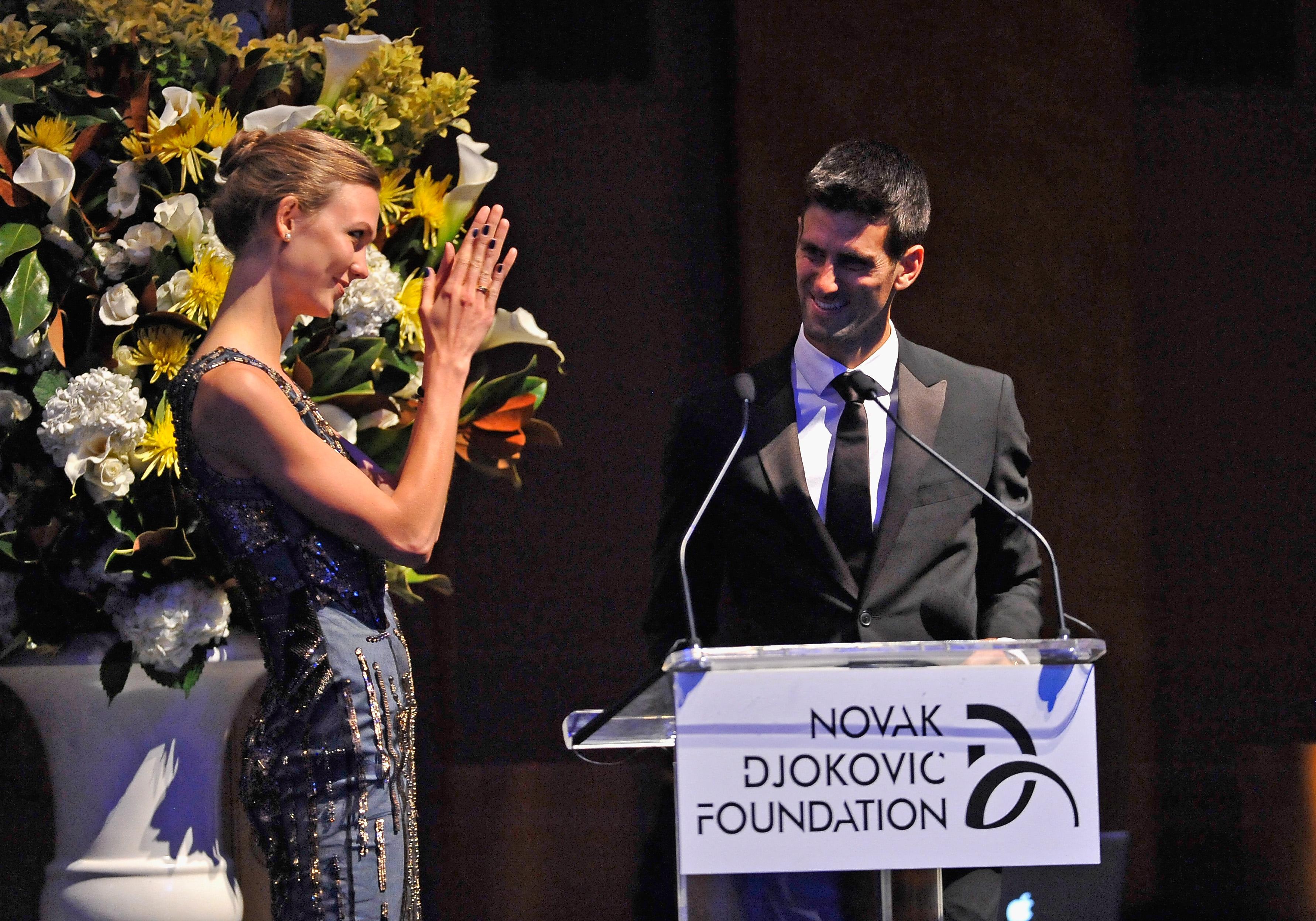 Novak Djokovic Foundation Charity Dinner Novak Djokovic