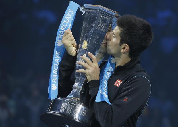 Đoković je sedmi igrač koji je osvojio titulu na završnom turniru...
