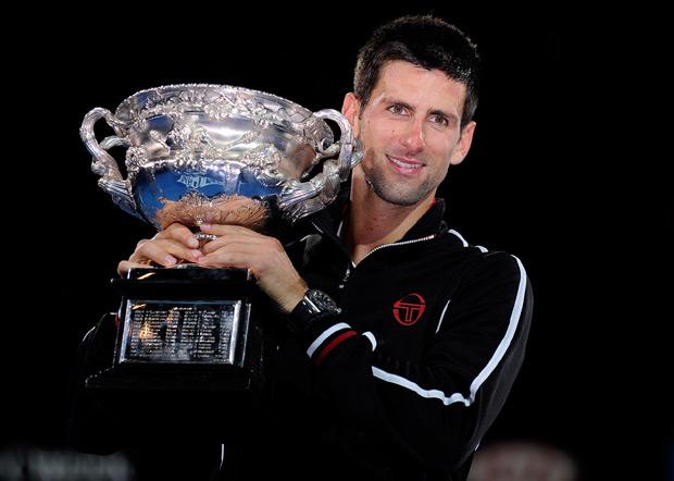 U januaru 2012. Novak je pobedio Nadala sedmi put zaredom...