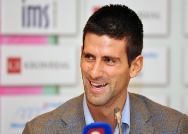 Novak je dobio iPod kao trofej kada je osvojio svoj prvi turnir.