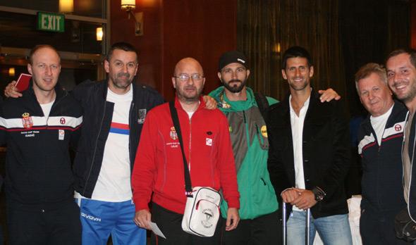 Dejvis kup: Novak doputovao u Bojsi