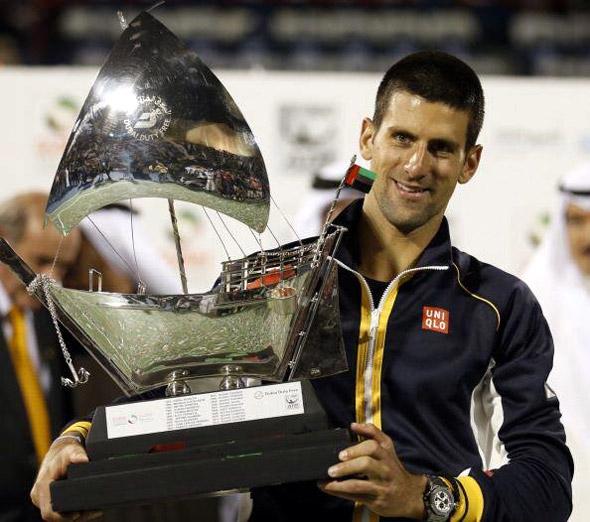 Novak je šampion Dubaija četvrti put u karijeri!