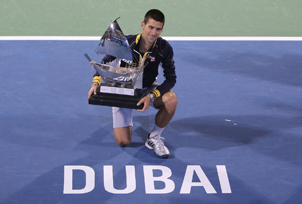 ATP lista: Nole prvi sa 13.280 poena!