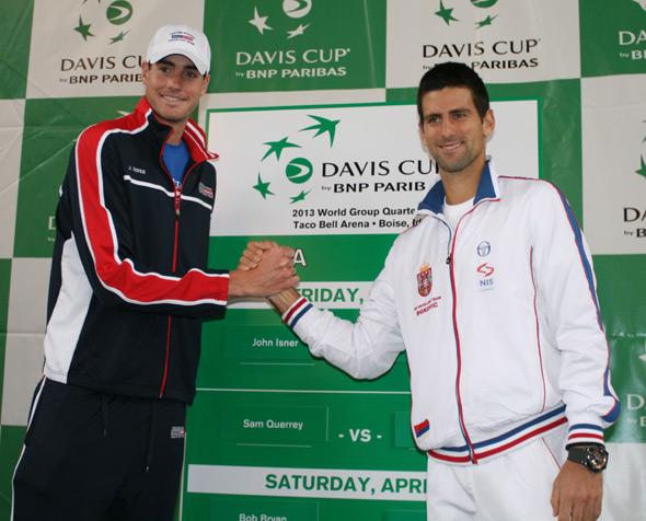 Davis Cup: Novak protiv Iznera u petak od 21:30h