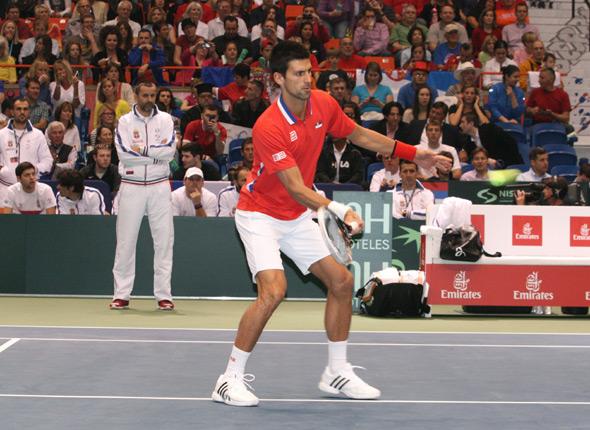 Davis Cup: Nole doneo Srbiji prvi poen protiv SAD