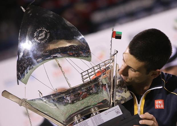 Novak je osvojio najviše titula u Melburnu, Dubaiju, Majamiju, Pekingu (3).