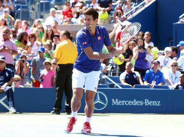 "Novak učestvovao na 18. po redu ""Arthur Ashe Kids' Day""-u"