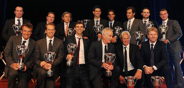 ATP proslavila 40 godina postojanja rangiranja sa najvećim legendama tenisa