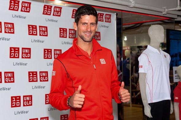 Nole promovisao UNIQLO opremu za US Open 2013