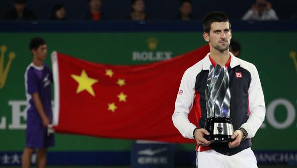 Novak u Kini brani dve titule