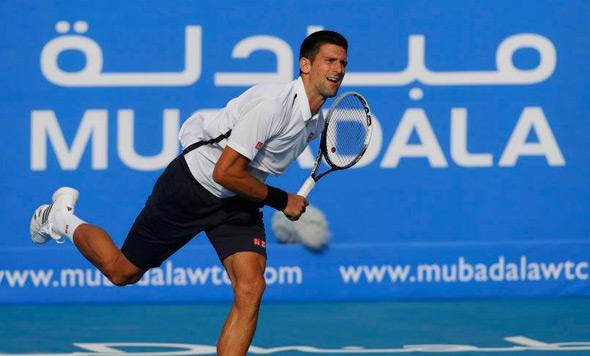 "Nole u trećem uzastopnom finalu ""Mubadala World Tennis Championship""-a!"