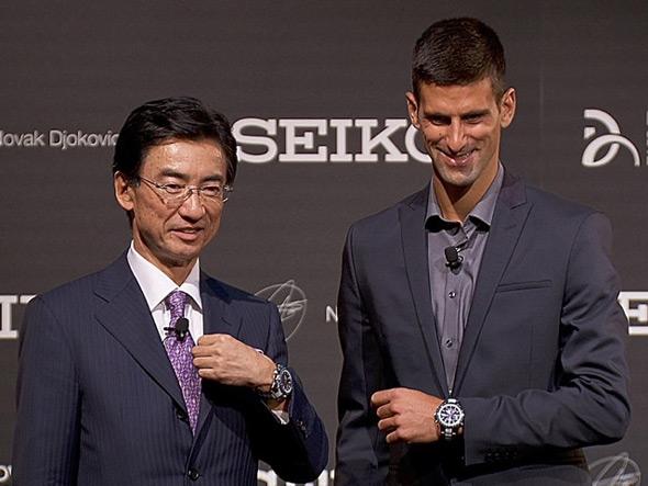 Novak Joins Seiko As Brand Ambassador Novak Djokovic
