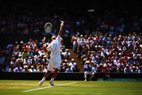 Novak u osmini finala Vimbldona!