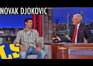 Late Show with David Letterman: Nole o predstojećem US Openu