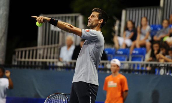 Novak učestvovao u dobrotvornoj egzibiciji Džona Mekinroa