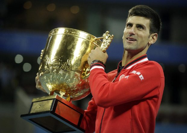 Novak je osvojio najviše titula u Pekingu (6).