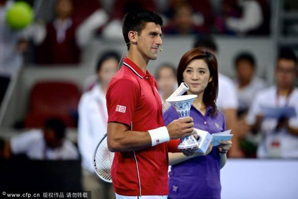Nole učestvovao na humanitarnoj egzibiciji u Pekingu