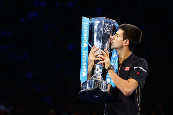 Federer odustao zbog povrede, Novak šampion ATP World Tour Finala!