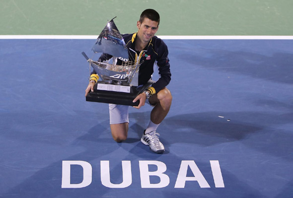 Резултат с изображение за djokovic dubai champion