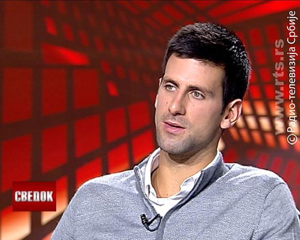 """Nole gostovao u emisiji """"Svedok"""" na RTS"""