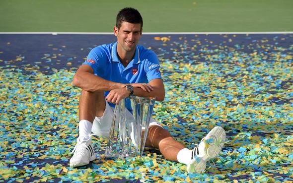 Pao i Federer, Novak osvojio 50. titulu u karijeri!