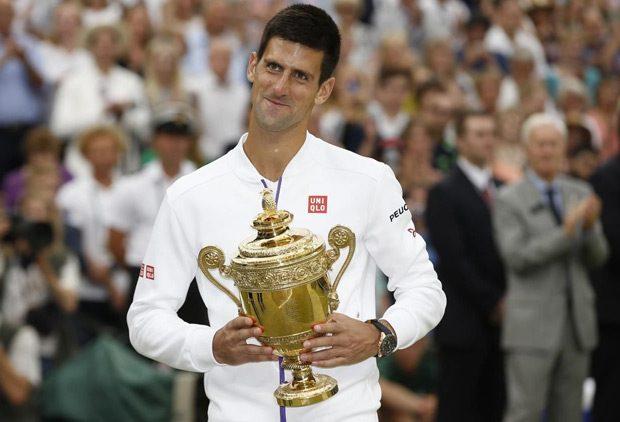 Pobeda u finalu Vimbldona nad Rodžerom Federerom rezultatom 7:6 (7:1), 6:7 (10:12), 6:4, 6:3, Novakova je...