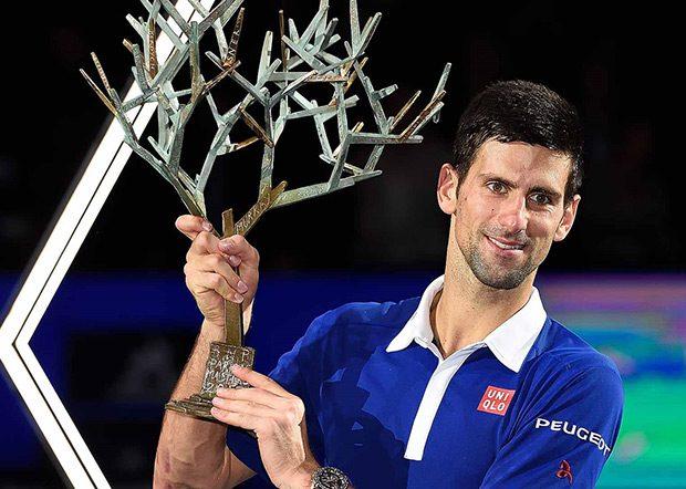 Pobedom u finalu Pariza nad Endijem Marejem rezultatom 6:2, 6:4, Novak je postao prvi teniser u istoriji koji je osvojio šest Masters titula u jednoj sezoni.