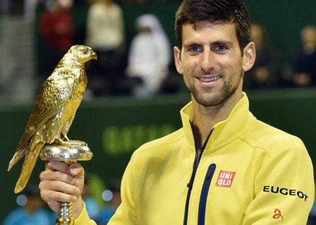 Pobedom u finalu Dohe Novak je osvojio 60. titulu u karijeri i postao tek deseti igrač u Open Eri koji je došao do ove cifre (izjednačio se sa Andre Agasijem).