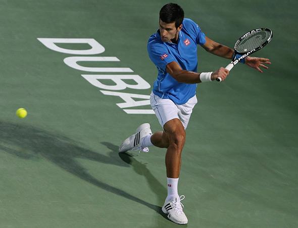 Ubedljiva pobeda Novaka na startu turnira u Dubaiju