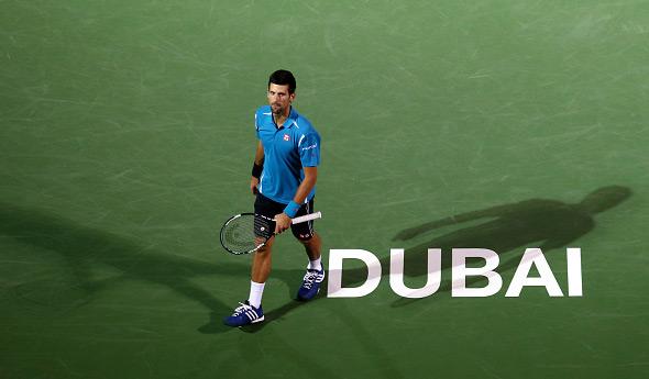 Novak predao četvrtfinalni meč Dubaija zbog infekcije oka
