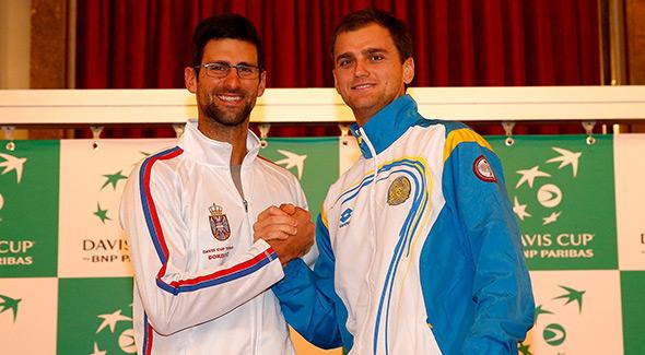 Dejvis kup: Novak doneo Srbiji 1:0 protiv Kazahstana