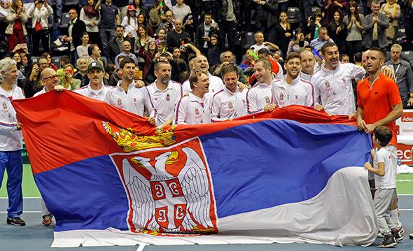 Srbija preokretom do četvrtfinala Dejvis kupa, u julu dočekujemo Veliku Britaniju!