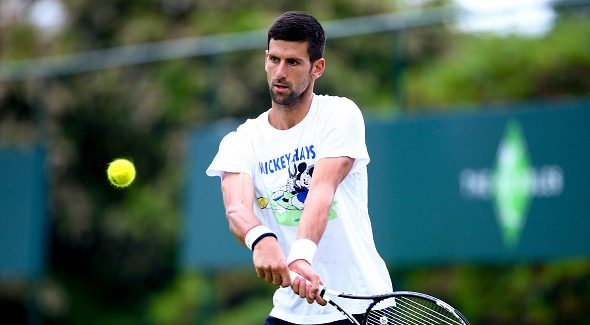 """Novak i ove godine na egzibiciji """"The Boodles"""""""