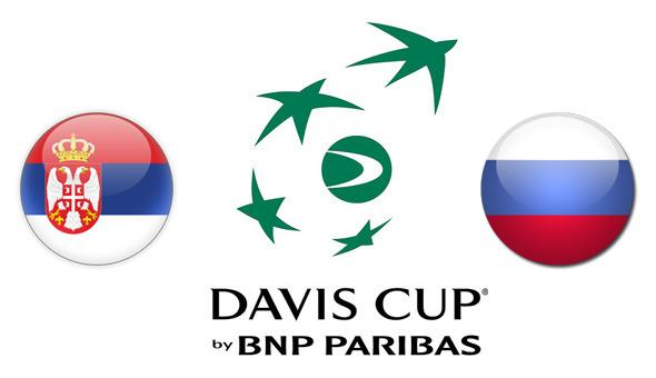 Dejvis kup: Srbija protiv Rusije u prvom kolu Svetske grupe 2017.