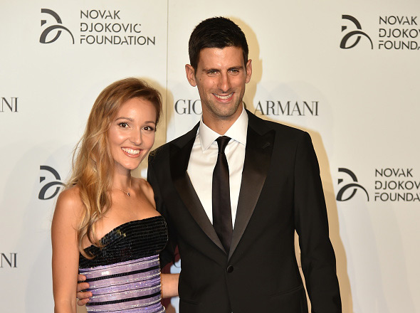 Novak Djokovic Foundation And Friends Hold Charity Gala Dinner In Milan Novak Djokovic