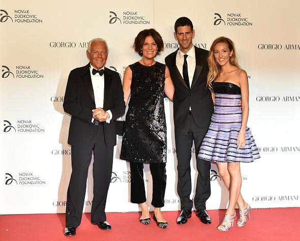 Novak Djokovic Foundation And Friends Hold Charity Gala Dinner In Milan Novak Djokovic