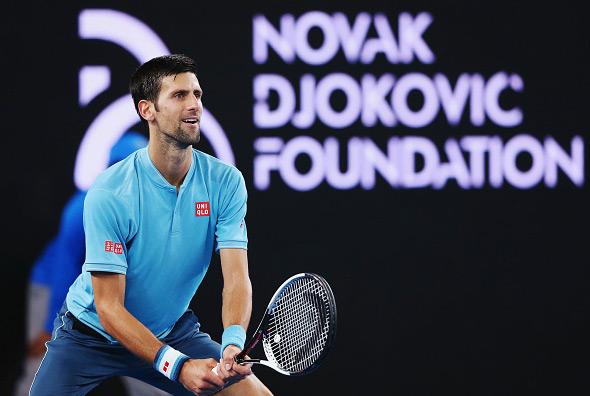 Novak Shines In Ndf Charity Gala Ahead Of Australian Open Novak Djokovic