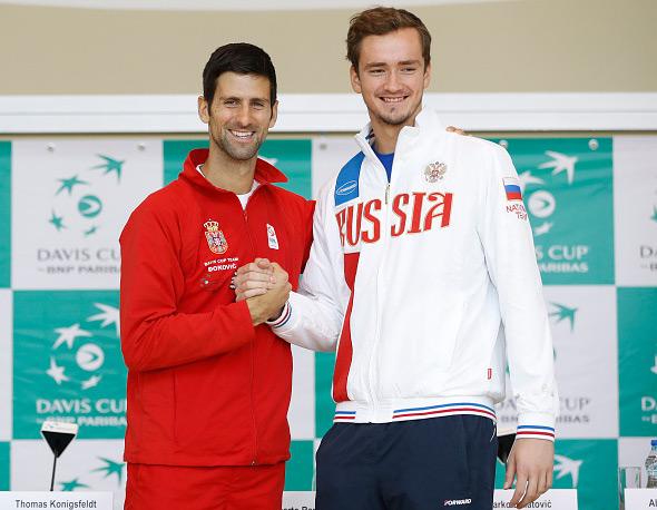 Pobede Troickog i Novaka, Srbija protiv Rusije vodi sa 2:0 nakon prvog dana