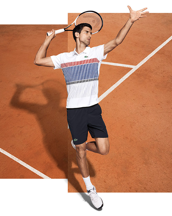 Novak Appointed Lacoste Ambassador Novak Djokovic