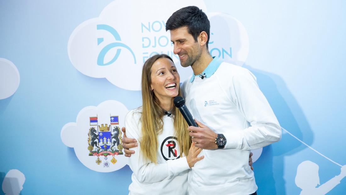 Novak Jelena And Ndf Donating 1 Million To Help Serbia Fight Covid 19 Novak Djokovic