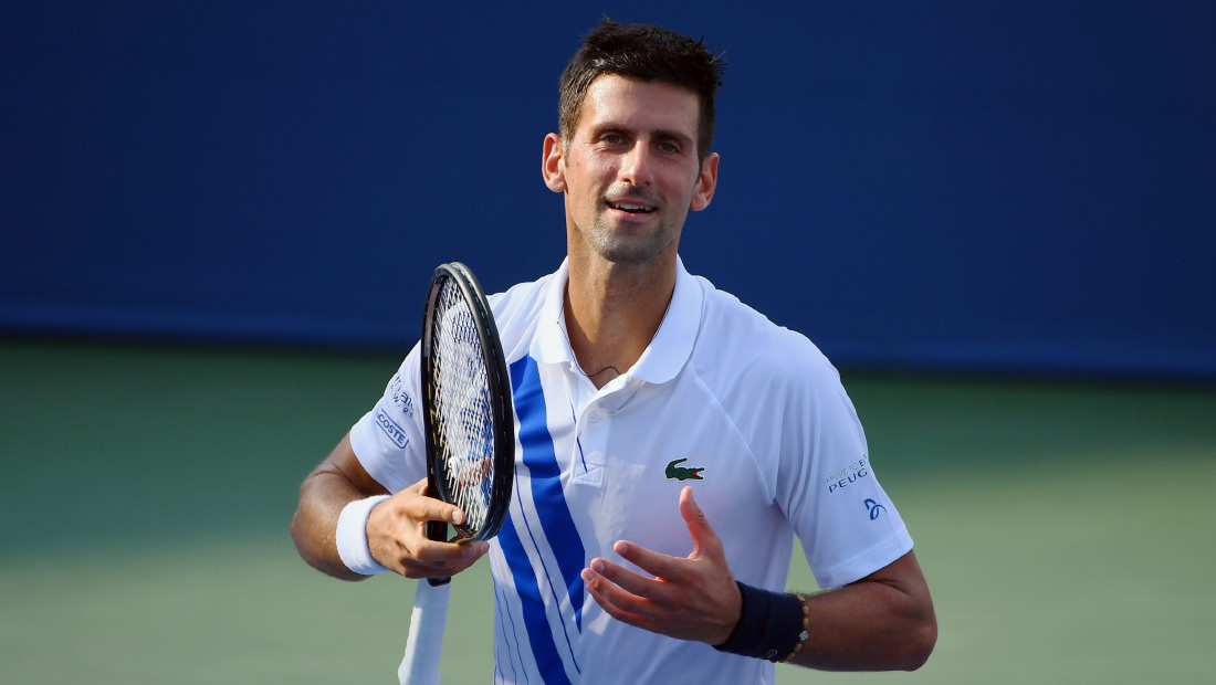 Nole Still Perfect In 2020 Faces Raonic For 2nd Cincinnati Trophy Novak Djokovic