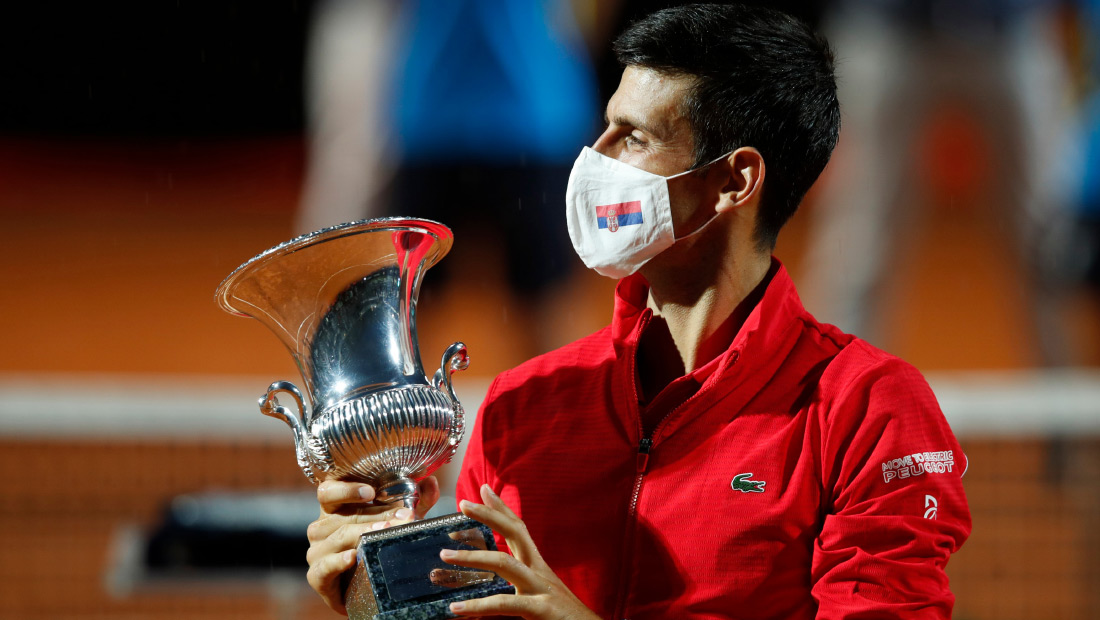 Novak Captures Record 36th Masters Crown And Fifth Title In Rome Novak Djokovic