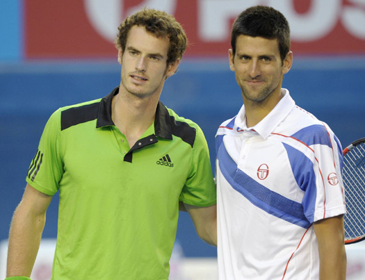 Nole And Murray Team In Doubles In Miami Novak Djokovic